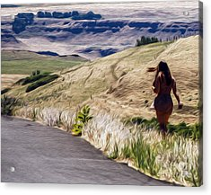 Acrylic Print featuring the photograph Maryhill 2013  by Carl Warren