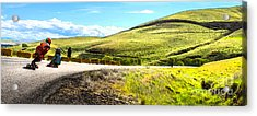 Acrylic Print featuring the photograph Maryhill Spring 2014  by Carl Warren
