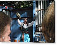 Maryland Renaissance Festival - A Fool Named O - 121223 Acrylic Print by DC Photographer