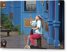 Maryland Renaissance Festival - A Fool Named O - 121232 Acrylic Print by DC Photographer