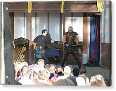 Maryland Renaissance Festival - Hack And Slash - 12128 Acrylic Print by DC Photographer
