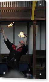 Maryland Renaissance Festival - Johnny Fox Sword Swallower - 1212105 Acrylic Print by DC Photographer