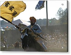 Maryland Renaissance Festival - Jousting And Sword Fighting - 1212130 Acrylic Print by DC Photographer