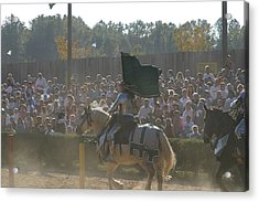 Maryland Renaissance Festival - Jousting And Sword Fighting - 1212132 Acrylic Print by DC Photographer