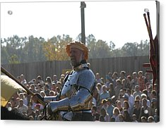 Maryland Renaissance Festival - Jousting And Sword Fighting - 1212146 Acrylic Print by DC Photographer