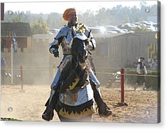 Maryland Renaissance Festival - Jousting And Sword Fighting - 1212163 Acrylic Print by DC Photographer