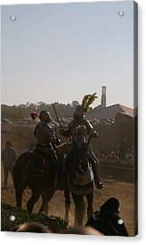 Maryland Renaissance Festival - Jousting And Sword Fighting - 1212183 Acrylic Print by DC Photographer