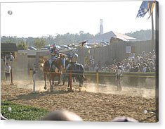 Maryland Renaissance Festival - Jousting And Sword Fighting - 1212195 Acrylic Print by DC Photographer