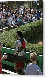 Maryland Renaissance Festival - Jousting And Sword Fighting - 1212198 Acrylic Print by DC Photographer
