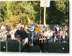 Maryland Renaissance Festival - Jousting And Sword Fighting - 121222 Acrylic Print by DC Photographer