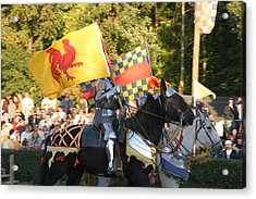 Maryland Renaissance Festival - Jousting And Sword Fighting - 121225 Acrylic Print by DC Photographer