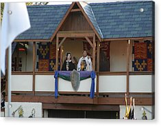Maryland Renaissance Festival - Jousting And Sword Fighting - 12126 Acrylic Print by DC Photographer