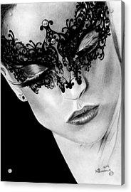 Masked Dance Acrylic Print by Kayleigh Semeniuk