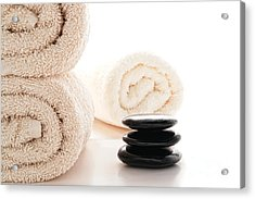 Massage Ready Acrylic Print by Olivier Le Queinec