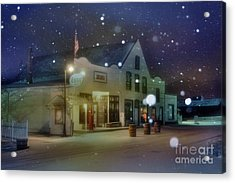 Mast General Store Acrylic Print by Benanne Stiens