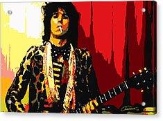 Master Keith Acrylic Print by John Travisano