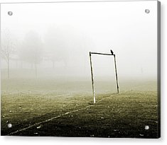 Match Abandoned Acrylic Print by Mark Rogan