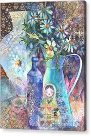 Matrioshka Acrylic Print by Kate Bedell