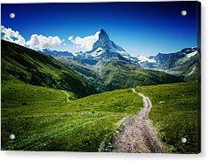 Matterhorn II Acrylic Print by Juan Pablo De