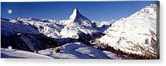 Matterhorn, Zermatt, Switzerland Acrylic Print by Panoramic Images