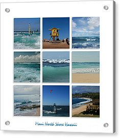 Maui North Shore Hawaii Acrylic Print by Sharon Mau