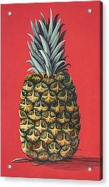 Maui Pineapple 2 Acrylic Print by Darice Machel McGuire
