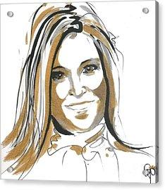 Maxima Queen  Acrylic Print by Go Van Kampen
