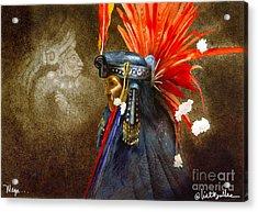 Maya... Acrylic Print by Will Bullas