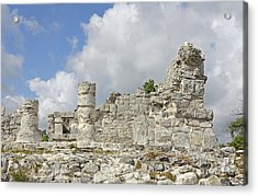 Mayan Ruins Acrylic Print by Charline Xia