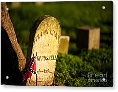 Mcgavock Confederate Cemetery Acrylic Print by Brian Jannsen