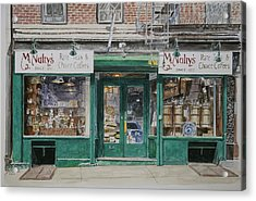 Mcnultys Coffee Acrylic Print by Anthony Butera