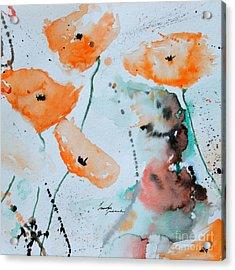 Meadow Children Acrylic Print by Ismeta Gruenwald