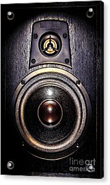 Mean Speaker Acrylic Print by Olivier Le Queinec