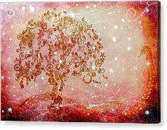 Mechanical - Tree Acrylic Print by Fran Riley
