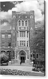 Medaille College Main Building Acrylic Print by University Icons