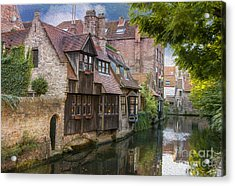 Medieval Bruges Acrylic Print by Juli Scalzi