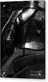 Medieval Dark Knight Acrylic Print by Bob Christopher