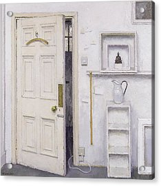 Meditation On A Door I Acrylic Print by Charles E Hardaker