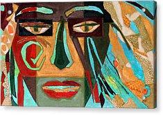 Medusa Acrylic Print by Diane Fine