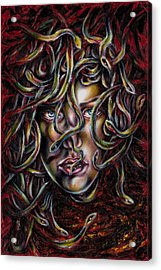 Medusa No. Three Acrylic Print by Hiroko Sakai