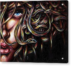 Medusa No. Two Acrylic Print by Hiroko Sakai