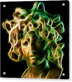 Medusa Acrylic Print by Taylan Apukovska