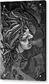 Medusa's Head Acrylic Print by Collection Abecasis