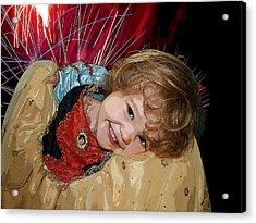 Meet Snow White Acrylic Print by Ellen Henneke