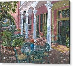 Meeting Street Inn Charleston Acrylic Print by Richard Harpum