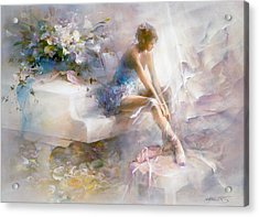 Melodies Acrylic Print by Willem Haenraets