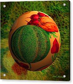 Melon Ball  Acrylic Print by Robin Moline
