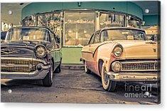 Mel's Drive-in Acrylic Print by Edward Fielding