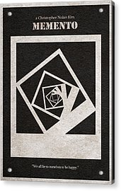 Memento Acrylic Print by Ayse Deniz