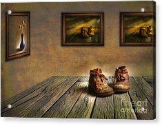 Mementos Exhibition Acrylic Print by Veikko Suikkanen